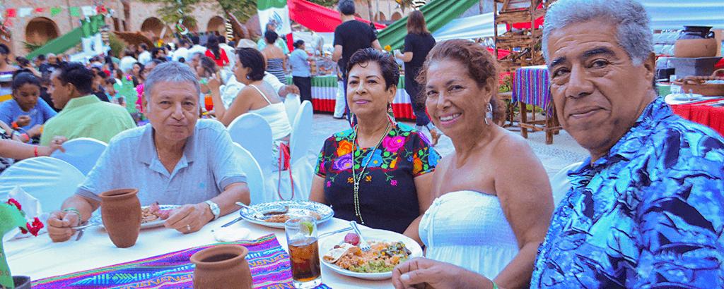 15th of September dishes at Royal Solaris Los Cabos