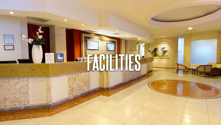 facilities all-inclusive beach front resort