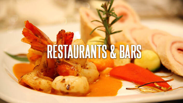 Restaurants included in your vacations at Royal Solaris Cancun