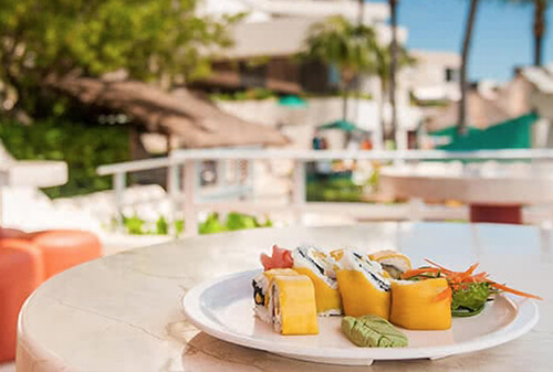Sushi restaurant - all inclusive resort