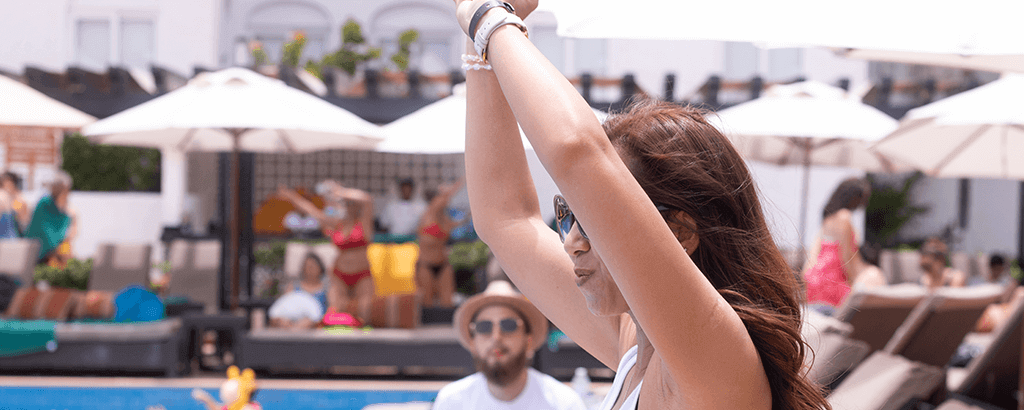 bailando reggae en gr caribe