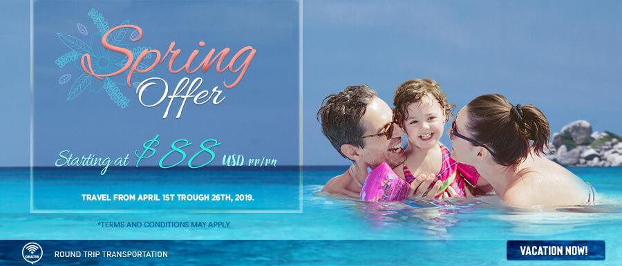 Spring at Club Solaris March april promotion