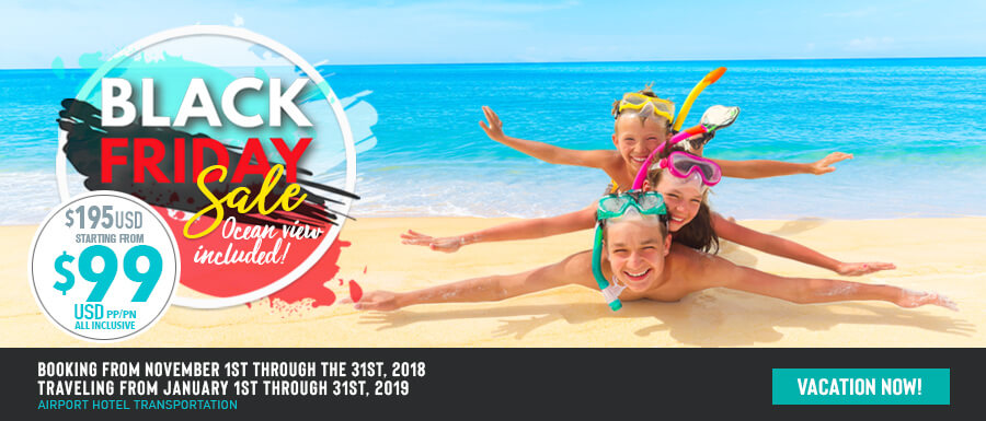 black friday sale on royal solaris all inclusive resorts