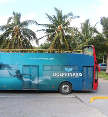Touristic Bus in Cancun