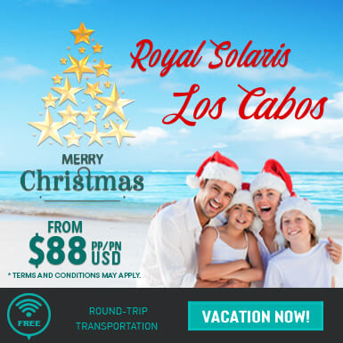 Christmas sale at Royal Solaris Resorts - Club solaris