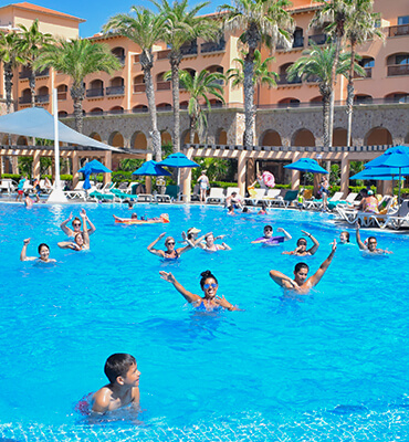 Pool Activities at the Hotel for your Vacations