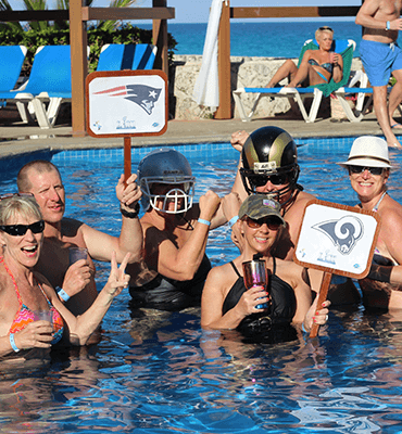 super bowl club solaris Cancún