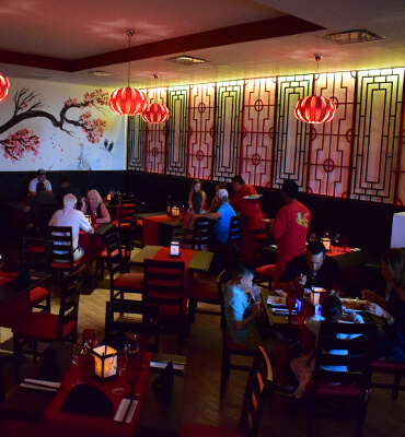 Oriental Dinning at the Zai Restaurant in Los Cabos
