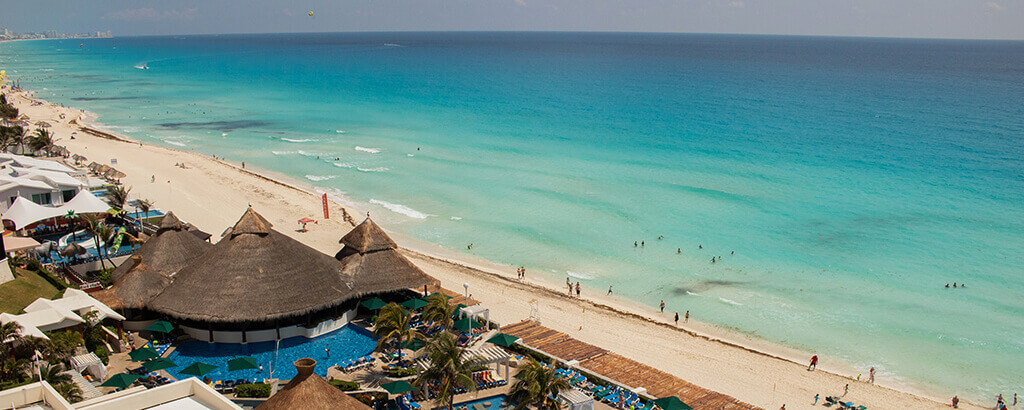 hermosas playas de Solaris Cancun