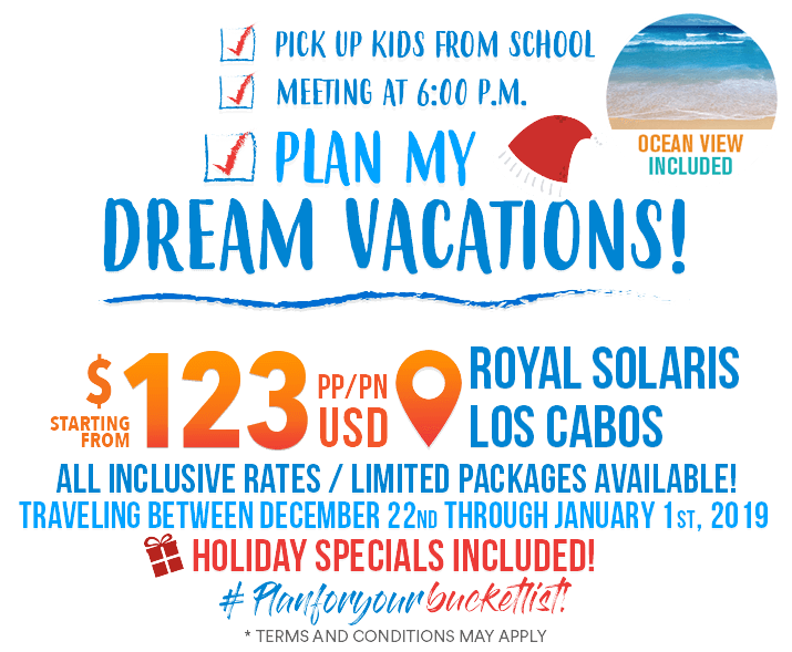 Plan your dream vacations in mexico today