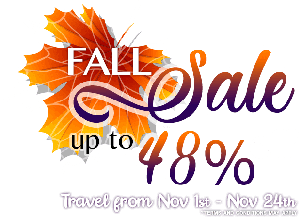 Book in advance your vacations in royal solaris and save