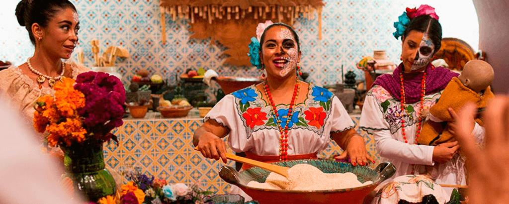 gastronomía mexicana en el Festival de Xcaret