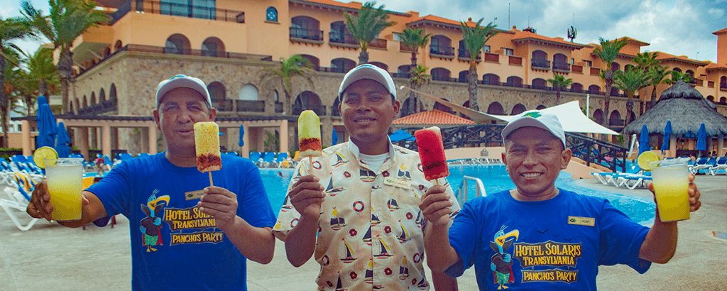 Fruit Popsicles at Royal Solaris Los Cabos