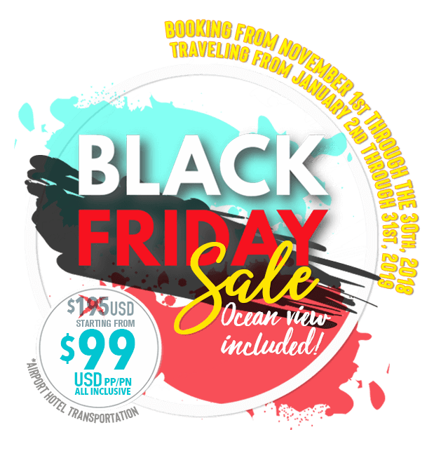 Special Promotion Black Friday to Cancun or Cabo in Royal Solaris Resorts