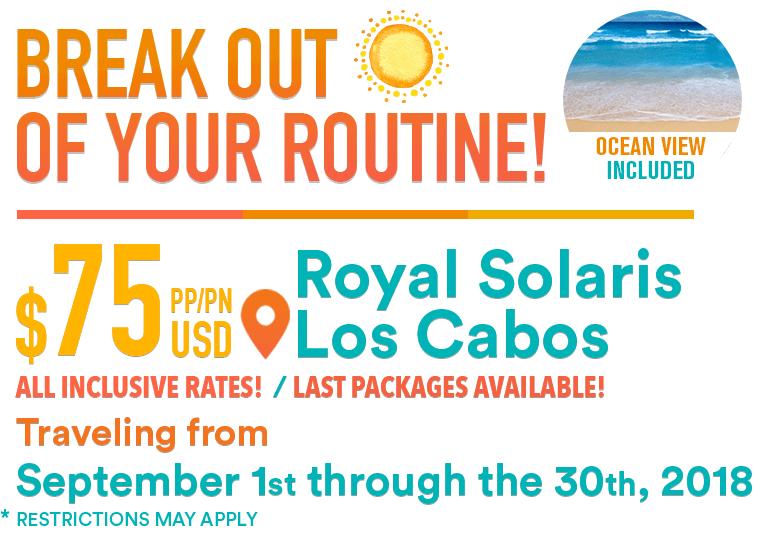 Last Minute Deal - break out the routine