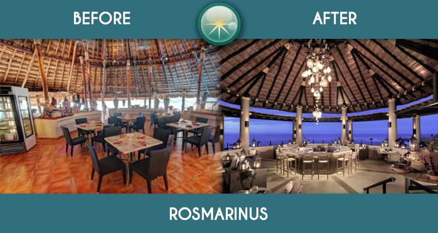 remodelacion total en solaris restaurante rosmarinos