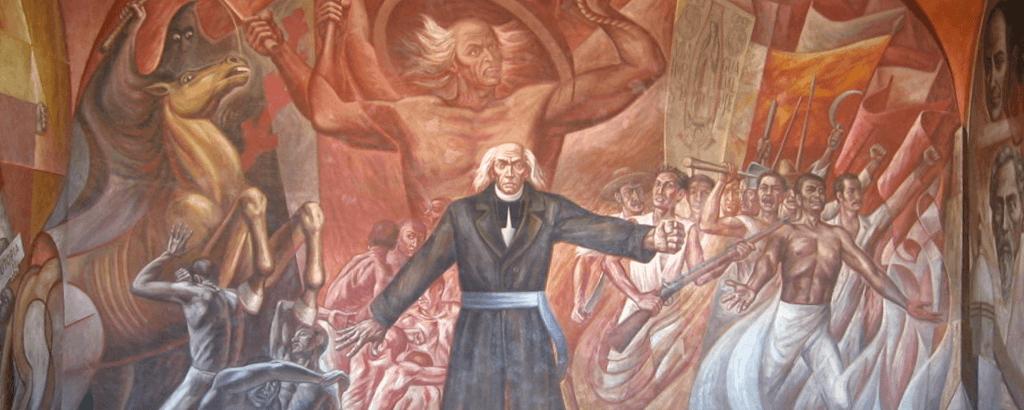 Miguel HIdalgo en el 15 de Septiembre