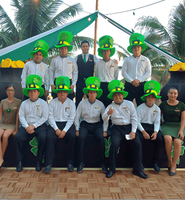 Celebrando el Día de San Patricio en Cancún