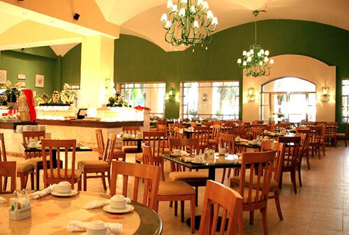 restaurante en el hotel gr solaris cancun Cafe solaris