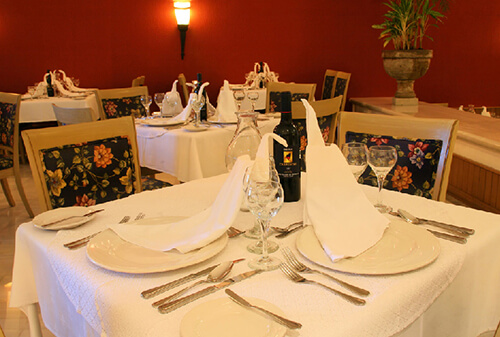 restaurante marco polo - hotel gr solaris cancun