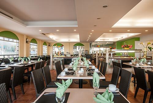 restaurante rosmarinus en hotel gr solaris todo incluido