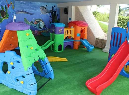 Area para niños y bebes em e hotel royal solaris cancun