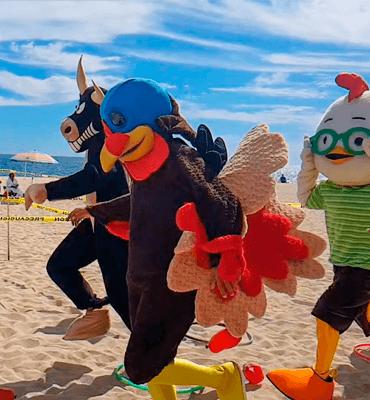 Carrera de Botargas en el Día de Acción de Gracias en Los Cabos