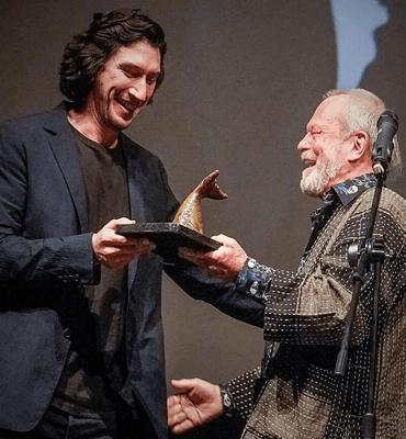 Ceremonia de Premiaciones en Los Cabos con el actor Adam Driver