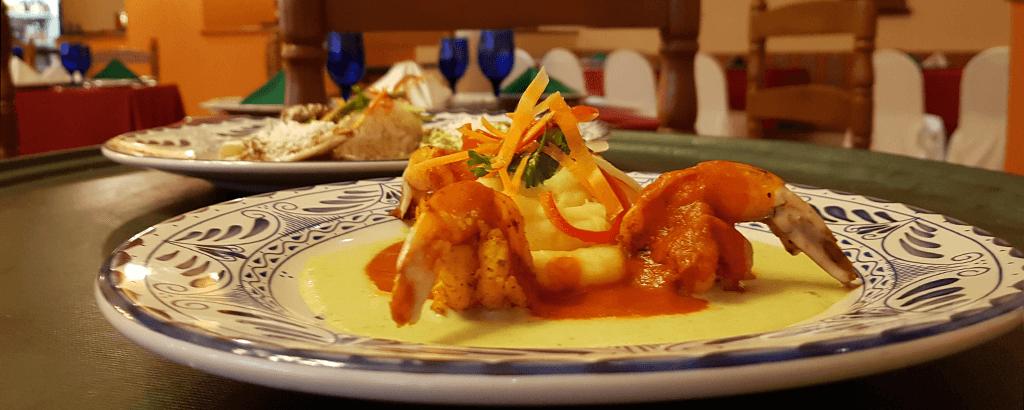 Platillos en el Restaurante Panchos de Royal Solaris Los Cabos
