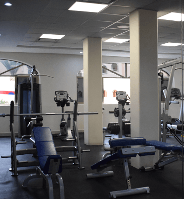 New equipment at the Gym from Royal Solaris Los Cabos