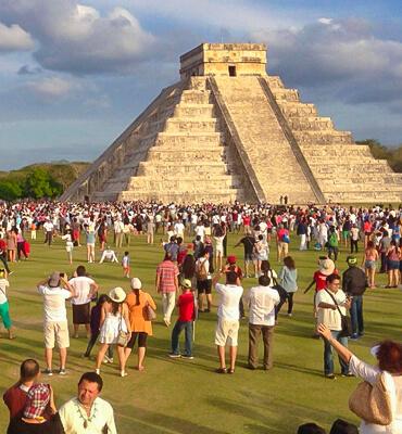 El Equinoccio de Primavera en el Templo del Sol Maya