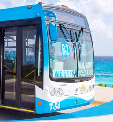 Los Camiones en Cancun