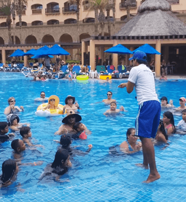 Atrapando Fichas en el Hotel de Solaris en Los Cabos