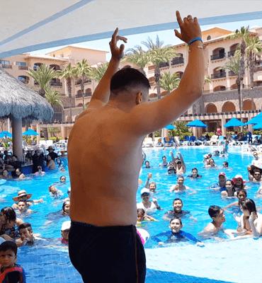 El concurso del Más Macho en el Hotel Solaris de Los Cabos