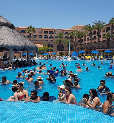 La Actividad de Bingo en el Hotel Solaris de Los Cabos