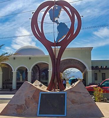 El pueblo Santiago en Los Cabos