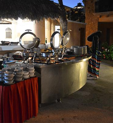 Estacion de Comida Mexicana en Los cabos