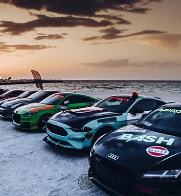Carros Deportivos en el Bash Road Tour en Cancún 2019