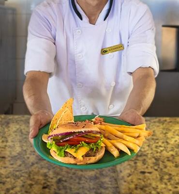 Comida en los Restaurantes del Hotel Solaris de Los Cabos
