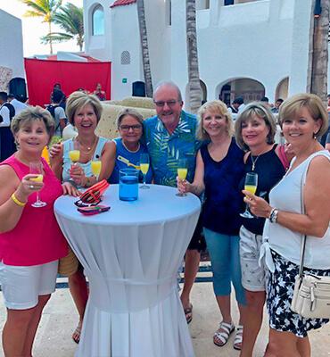 Festejando el Dia de las Madres en Cancun