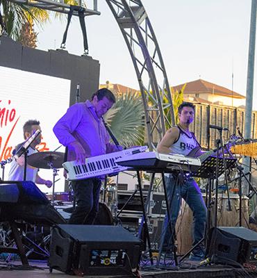 Grupos Musicales en el Festival de Jazz en Los Cabos