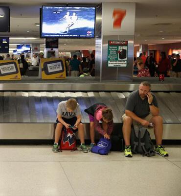 Perdiendo las Maletas en el Aeropuerto