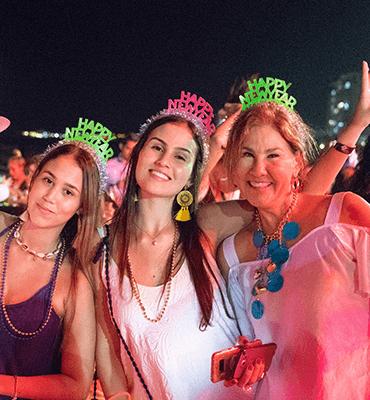 Celebrando el Año Nuevo en Cancun