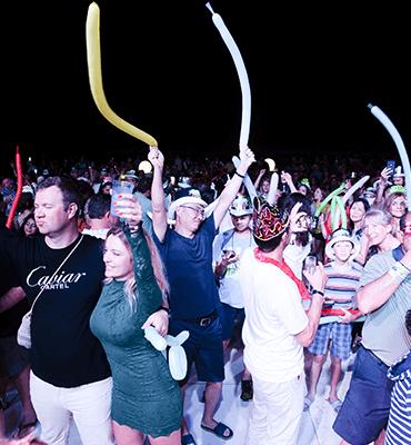 Celebrando la llegada del 2019 en Cancun