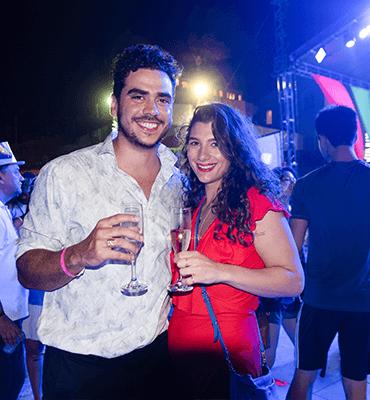 Celebrando el 2019 en la Playa de Cancún