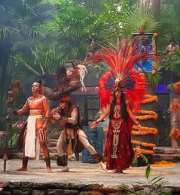 Tradiciones prehispanicas en el Festival de la Vida y la Muerte en Cancun