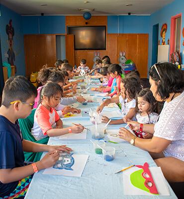 El Kids Club del Hotel Solaris de Los Cabos
