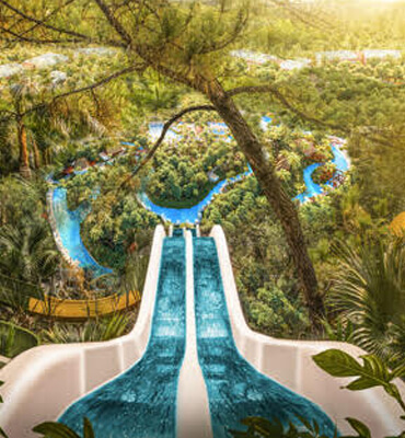 Paradise Free Fall en Jungala Cancún