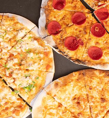 sabores pizza cinque terre en Solaris Cancun