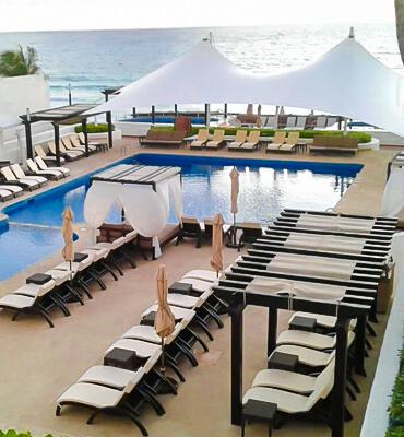 Nuevo Inmobiliario en las Albercas de los Hoteles Solaris de Cancún